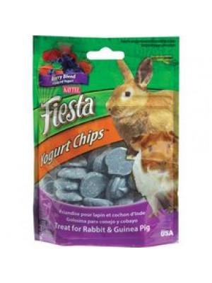 Kaytee Berry Blend Yogurt Chips Rabbit/GP Treat