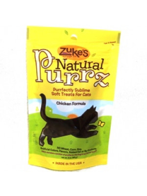 Zuke's Natural Purrz Chicken Cat Treat