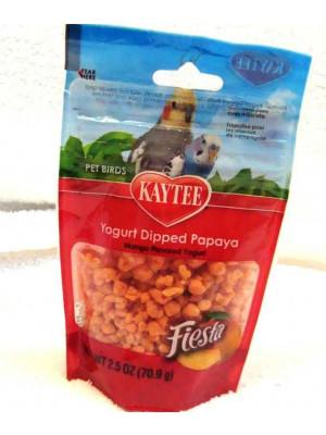 Fiesta Yogurt Dipped Papaya Bird Treat