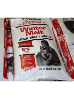 Rock Salt Ice Melt 50 Lb.