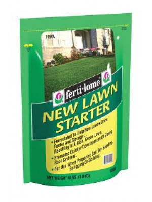 Fertilome 4 Lb. New Lawn Starter Fertilizer
