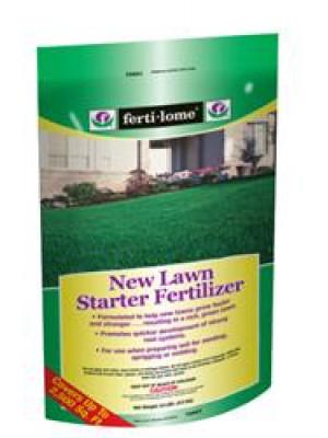 Fertilome 10 Lb. New Lawn Starter Fertilizer