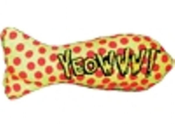 Yeowww! Catnip Sardine Cat Toy
