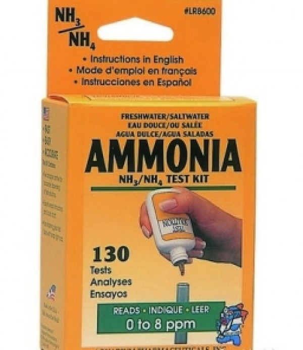 Fresh Or Salt Water Ammonia Test Kit