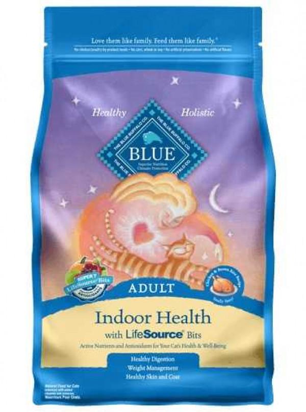 Blue Indoor Adult Chicken Cat Food 7#