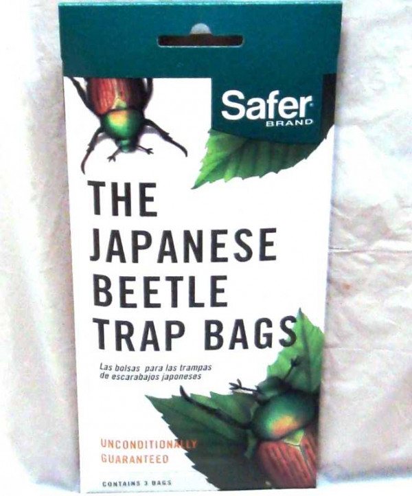 Safer Japanese Beetle Replacement Bags