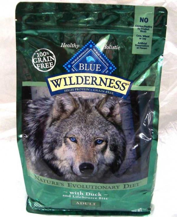 Blue Buffalo Wilderness Duck Dog Food 4.5 Lb.