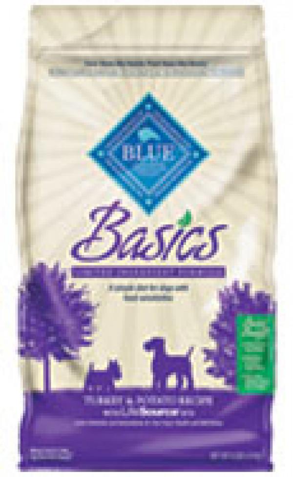 Blue Buffalo Basics Turkey Dog Food 24 Lb.