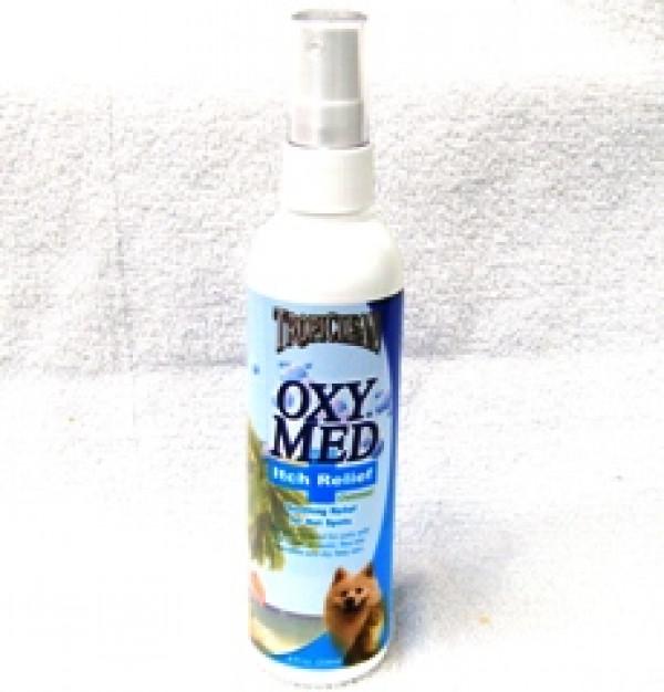 TropiClean OxyMed Anti-Itch Spray 8oz
