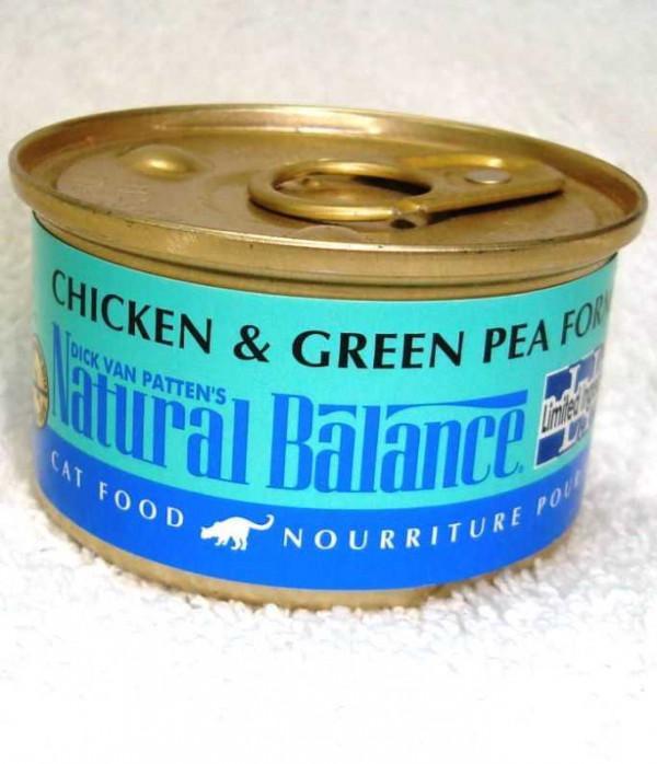 Natural Balance Chicken/Pea LID Wet Cat Food