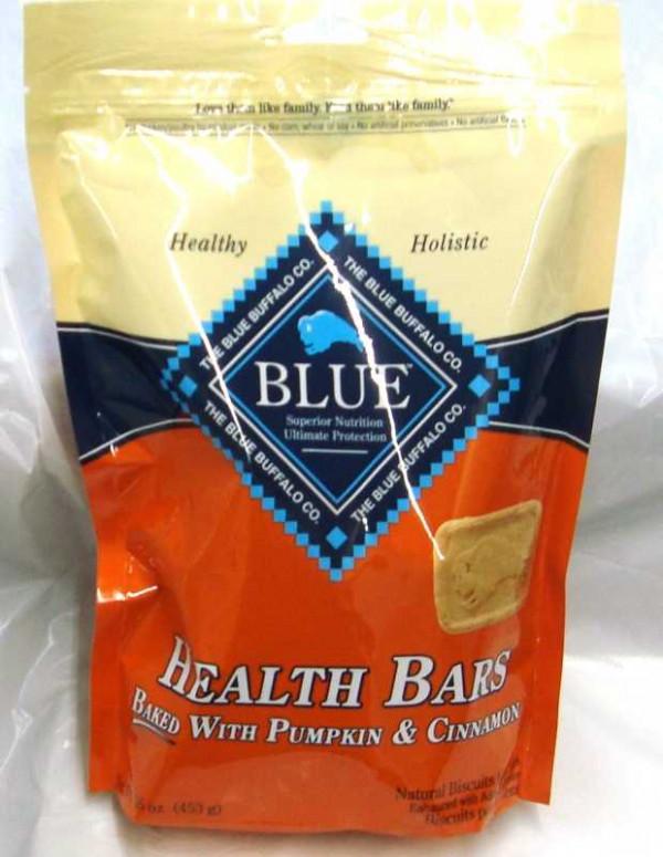 Blue Buffalo Dog Health Bar Pumpkin Cinnamon
