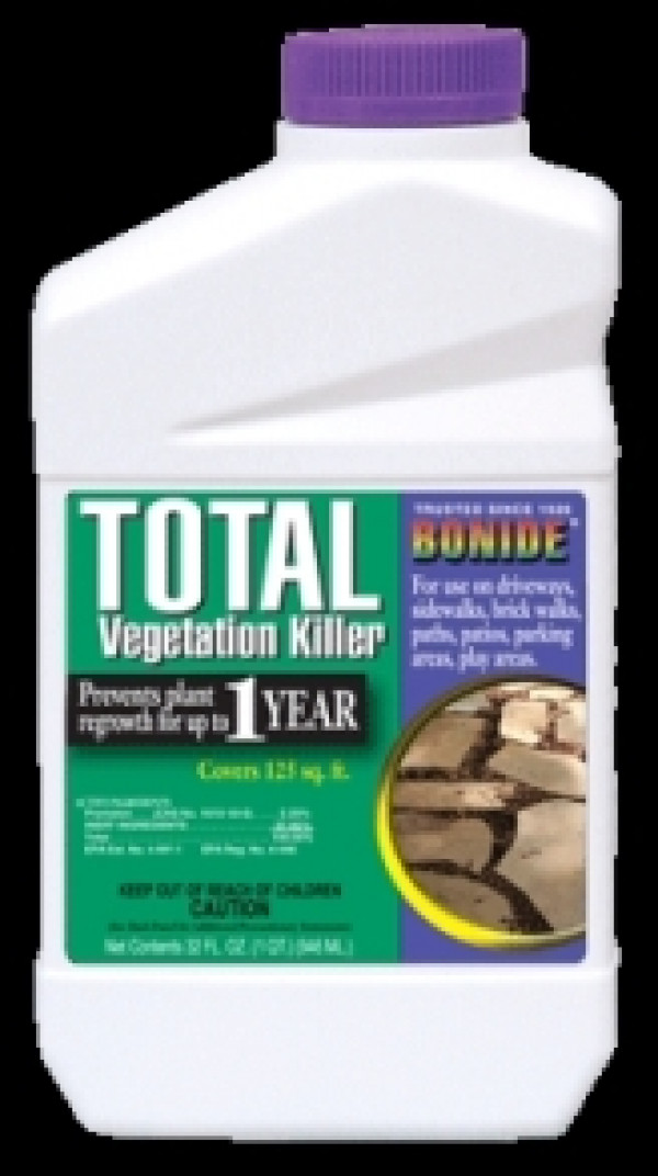 Bonide Total Vegetation Killer Quart - Weed Control - Lawn