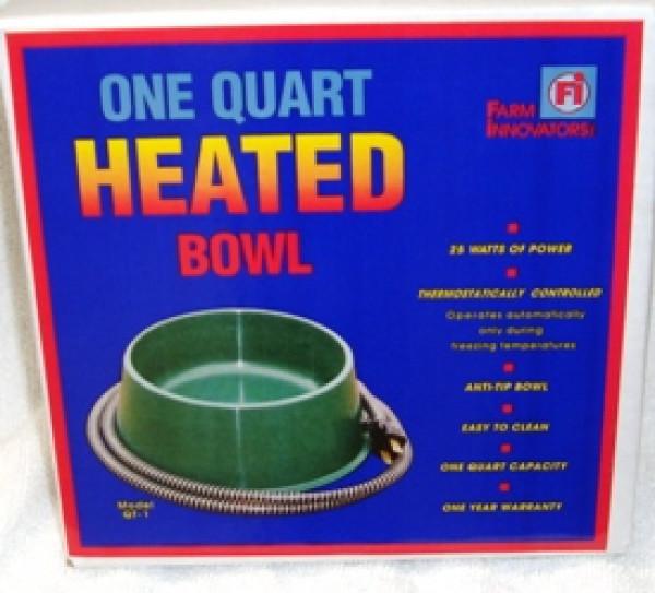 Heated Pet Bowl 1 Qt