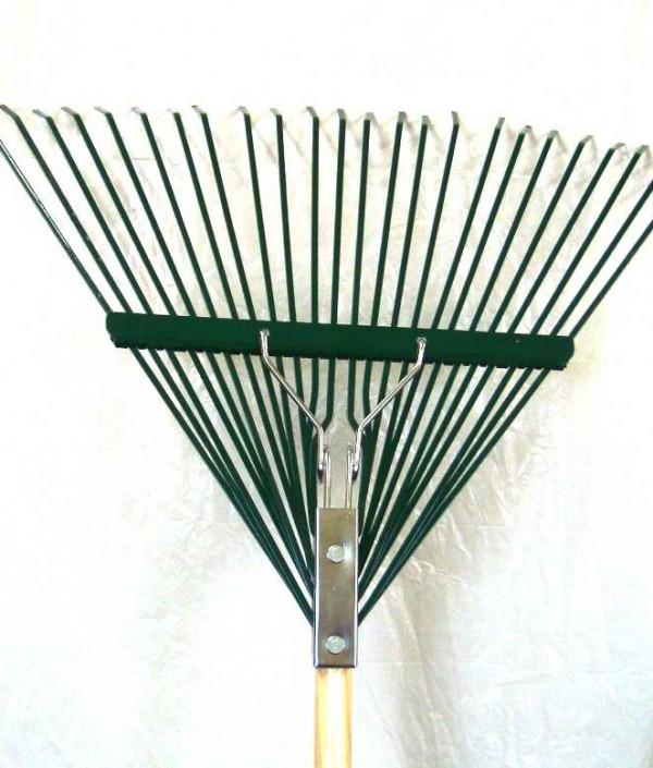 Woverinel 24'' Steel Leaf Rake