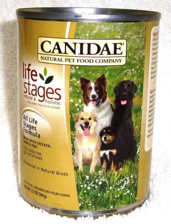 Canidae Canned Dog Food Reviews