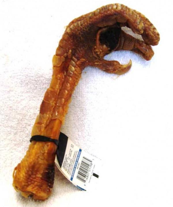 Turkey Foot Dog Treat