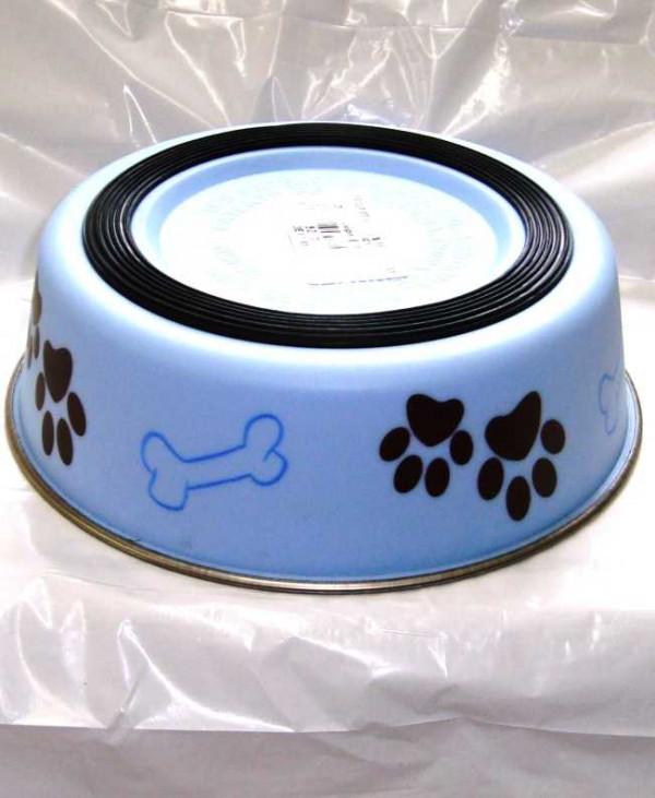 Bella Light Blue Medium Dog Bowl