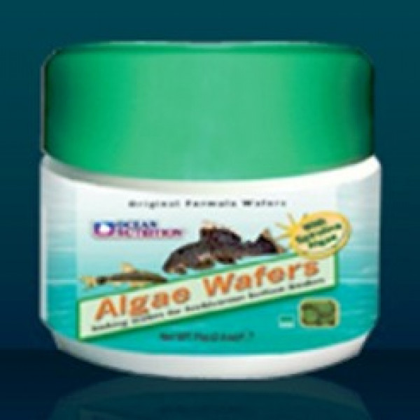 Ocean Nutrition Sinking Algae Wafers 2.6 Oz.