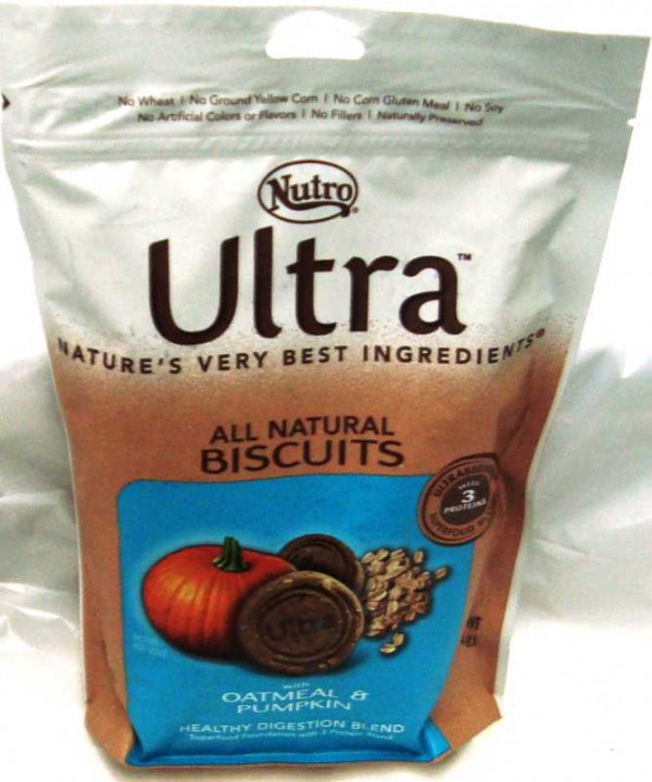 Nutro Biscuit  Oatmeal and Pumpkin