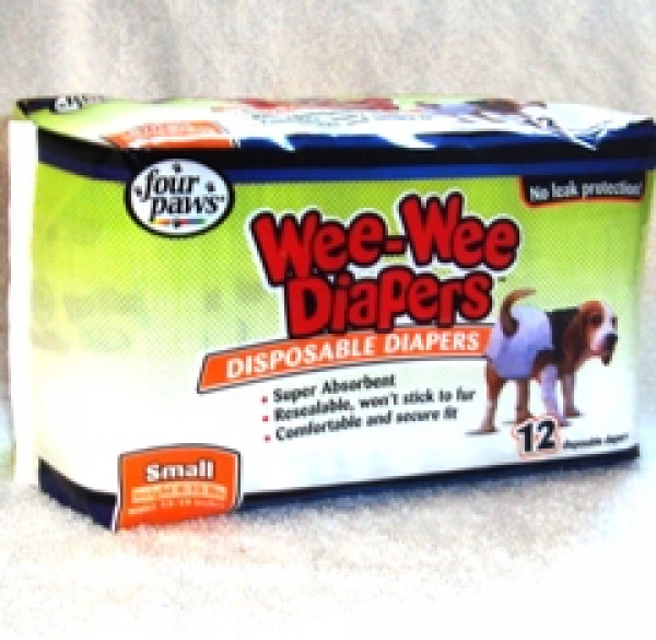 Wee Wee Dog Diapers Small