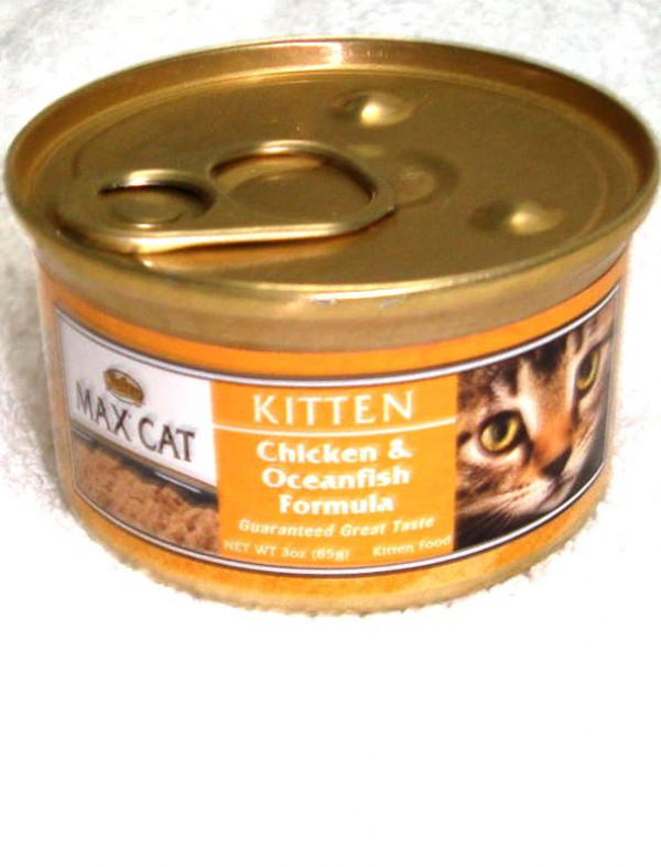 Nutro Max Kitten Chicken & Ocean Fish Wet Food 3oz