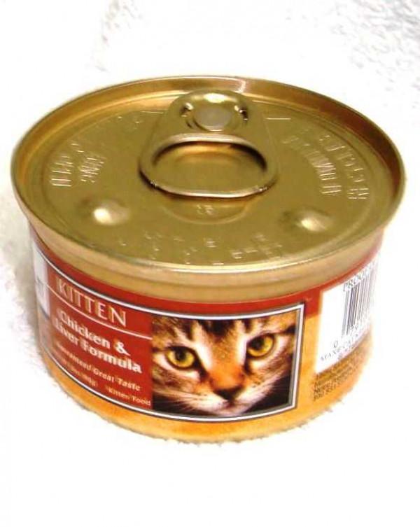 Nutro Max Kitten Chicken & Liver Wet Food 3oz
