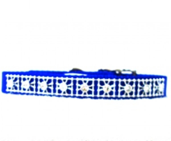 Coastal Nylon Jewel Collar 14 Inch