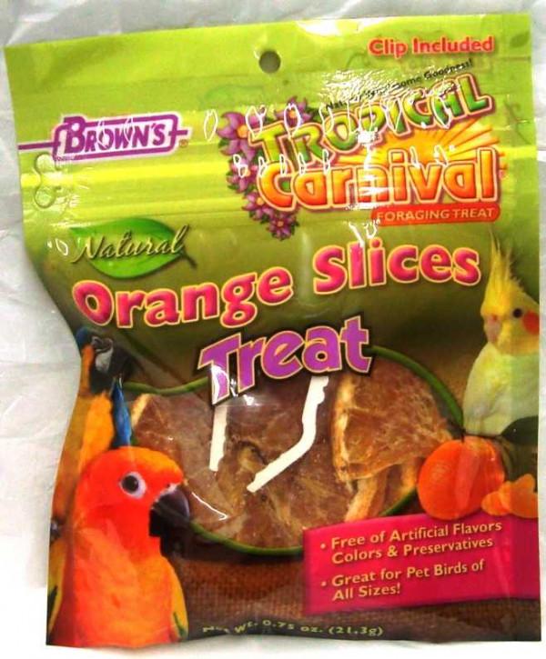 Brown's Bird Orange Slices
