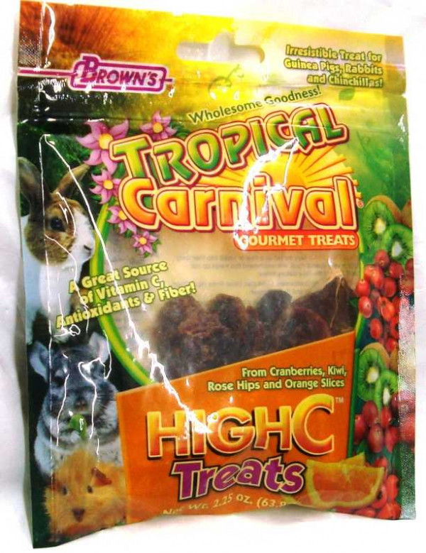 Brown's High C Small Pet Treats