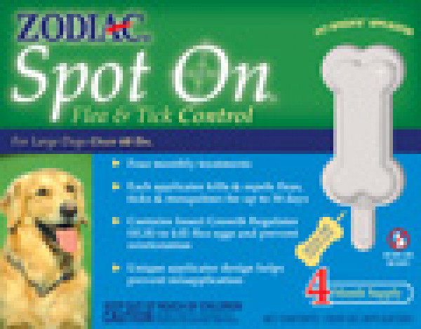 Zodiac Spot On Flea And Tick Control For Big Dogs