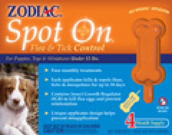 Zodiac Spot On Flea And Tick Control For Puppies