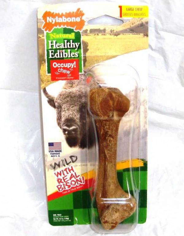 Nylabone Healthy Edible Bison Lg