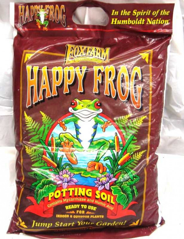 Fox Farm Happy Frog Potting Soil 12qt