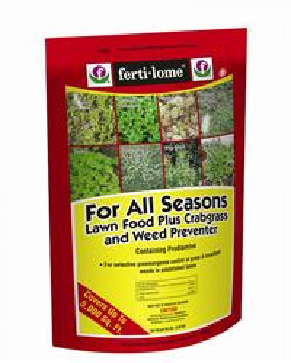 Fertilome All Season Crabgrass Preventer Plus Food