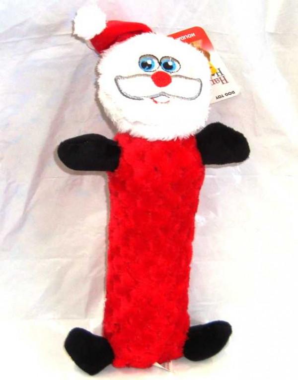 Santa Squeaker Dog Toy