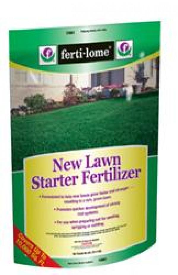 Fertilome 20 Lb. New Lawn Starter Fertilizer
