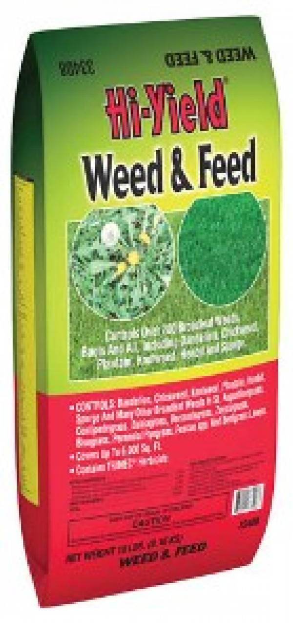 Hi-Yield 18 Lb. Weed & Feed Lawn Food
