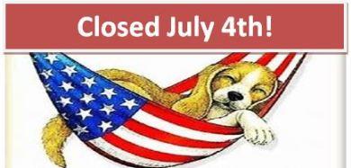 Closed July 4